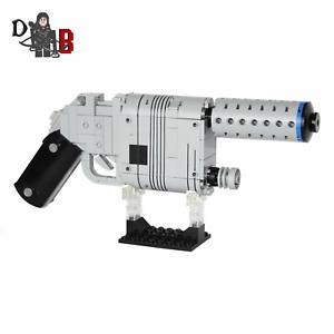 Star Wars Han Solo   Rey Blaster NN-14 von Force Awakens unter Verwendung Lego