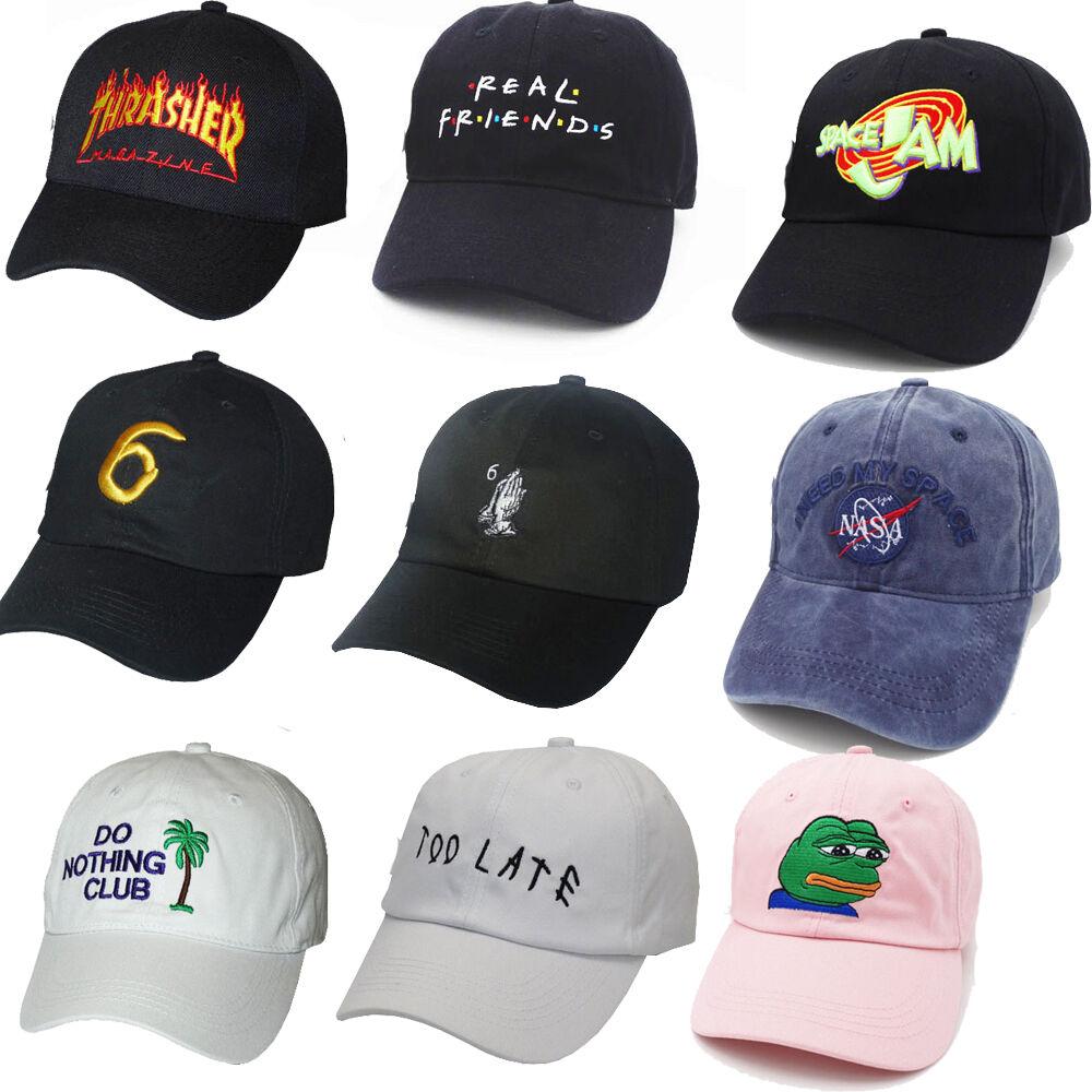 b625af4f4f0 Adjustable Real Friends Baseball Trending Rare Snapback Cap Hip Hop Dad Hat  Men
