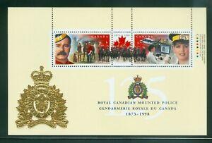 Feuillets-souvenir-Canada-Sc-1737b-c-d-e