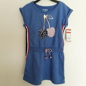 3710e9e35ea Girls dress Americana brand Cat and Jack new with tags color red ...