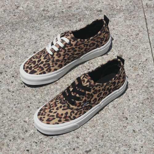 Details about  /Women/'s Fashion Leopard Athletic Flat Lace Up Sneaker Causal Outside Crisscross