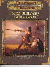 HERO BUILDER'S GUIDEBOOK D&D Dungeons Dragons Players Handbook Guidebook
