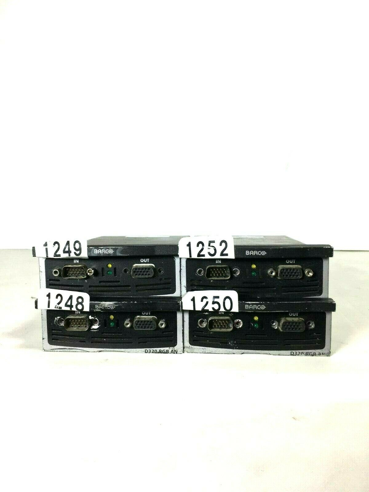 BARCO XL D320 RGB AN PROCESSOR CARD (ONE)