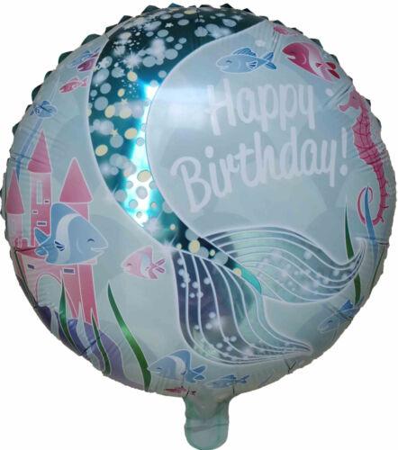 MERMAID ARIEL BIRTHDAY PARTY BALLOON CENTERPIECE DECOR LOLLY BAG FILLER GIFT TOY