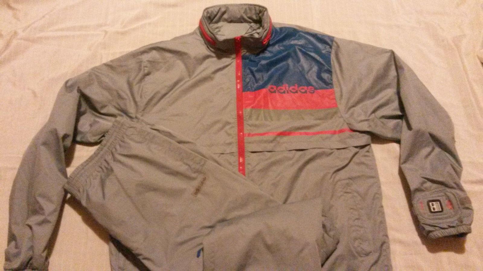 Original adidas entrenamiento Traje XL micropacer plata extremamujerte Jacket trousers