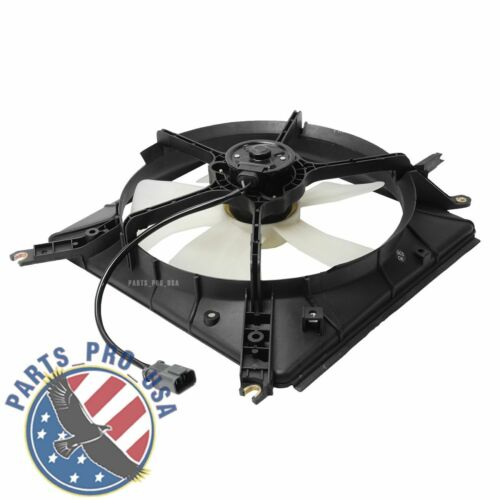 New Radiator Cooling Fan /& Motor Assembly for 90-93 H0onda Accord 19005PP1003