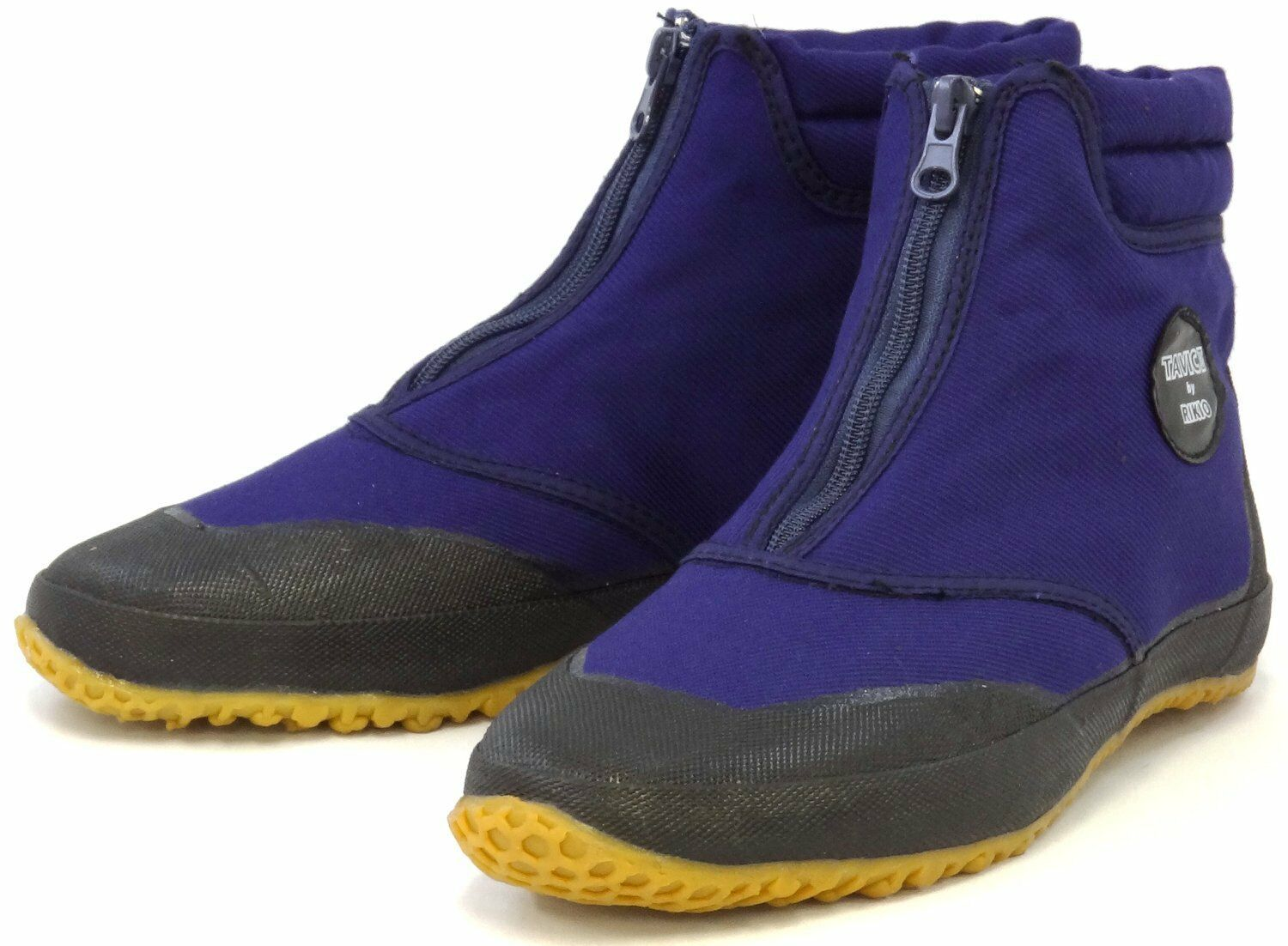 Japanese Rikio Tavic 2 TABI Boots Ninja Shoes Mid Cut Blue TVCII ZB Zip Japan