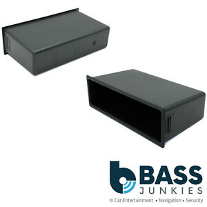 Volkswagen Bora Double Din to Single Car Stereo Pocket Tray Facia Storage FP-016