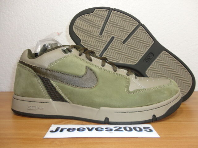 2003 Nike Zoom Air Angus Khaki / Dark Loden Sz 9 100% Auth. Dunk SB 307247 231