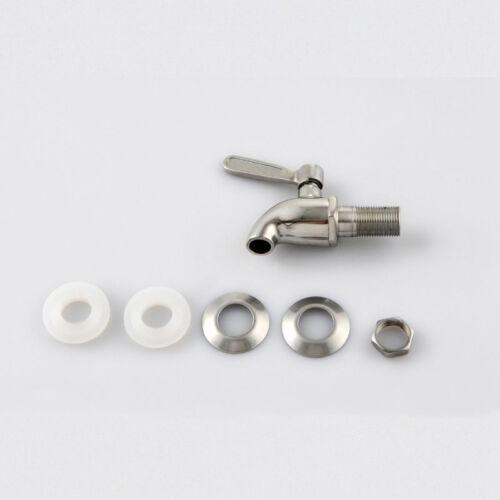 304 Stainless Steel Beverage Drink Water Dispenser Wine Barrel Spigot//Faucet BR