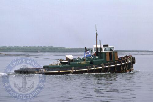 Unico Photograph 10X15 J.T Ship Photo Palmer /& Sons Thames Tug 6X4
