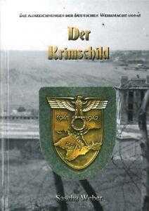 Weber-Der-Krimschild-Handbuch-Bildband-Orden-Wehrmacht-Auszeichnungen-Heer-WW2