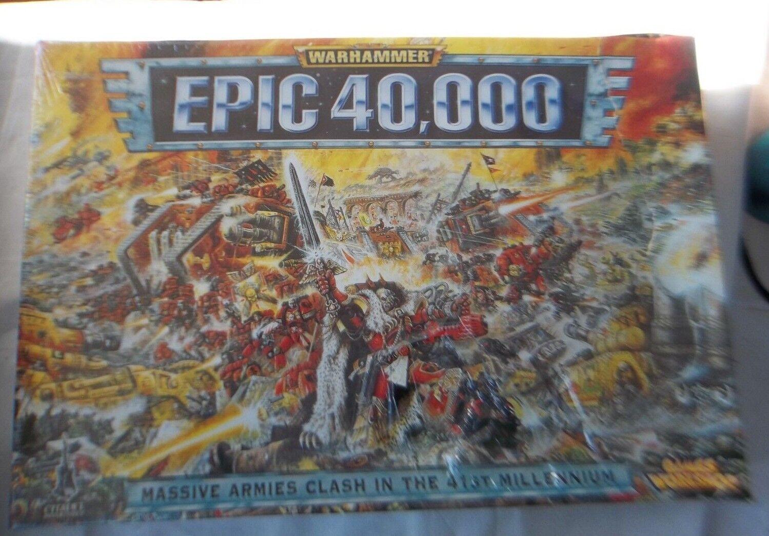 La épica batalla de 40.000 martillos, un gran conflicto militar militar militar en 41.000 años, Nueva sellada en 1997. 138