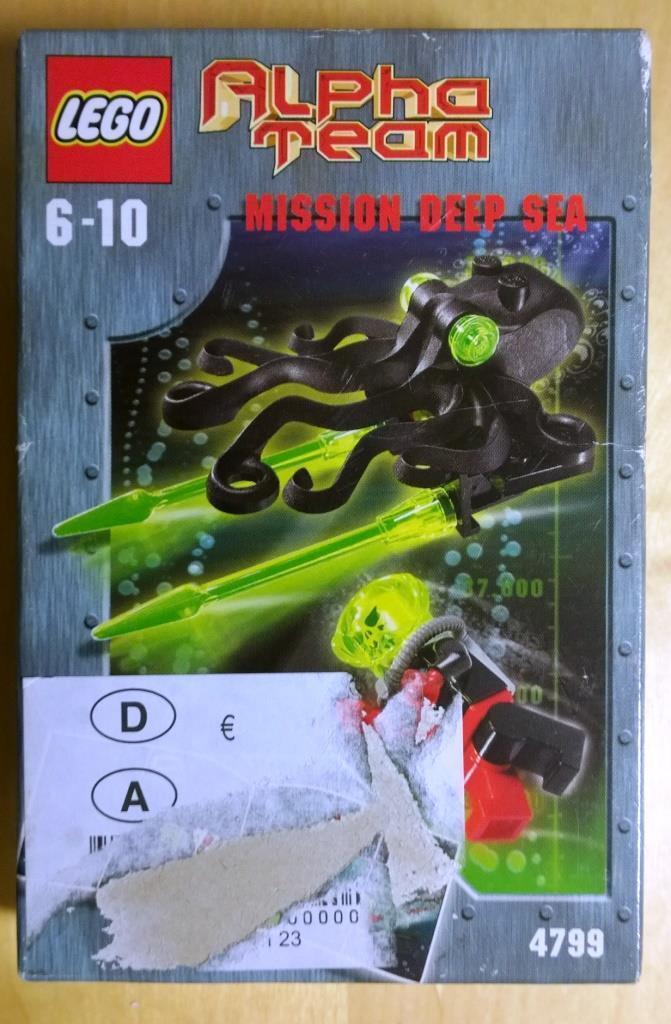 Lego Alpha Team Ogel Ogel Ogel Drone Octopus (4799) a89452