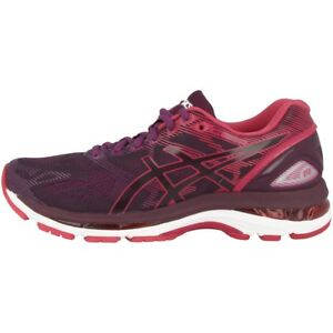 fef30dbb98fffc Asics Gel-Nimbus 19 Women Damen Laufschuhe black pink bloom Running ...