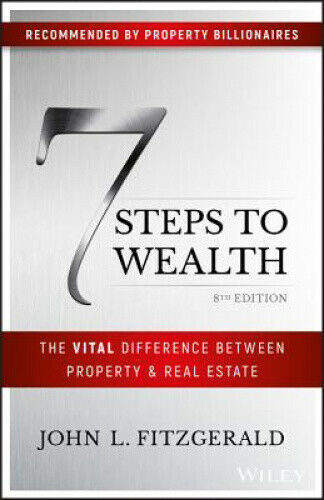 7 Steps to Wealth: The Vital Difference Between Property and Real Estate.