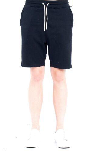 NWT $64 Publish Brand Terry Shorts in Black Sweat Material sz XL