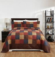 7pc Old Glory King Bed Quilt Set By Olivias Heartland/country Bedding