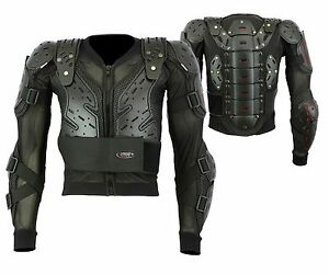 Smart MX Body Armour Motorcycle Motorbike Motocross Spine Protector Guard Jacket
