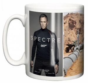 Dirty Fingers Mug, Daniel Craig James Bond Spectre, Film Design Poster