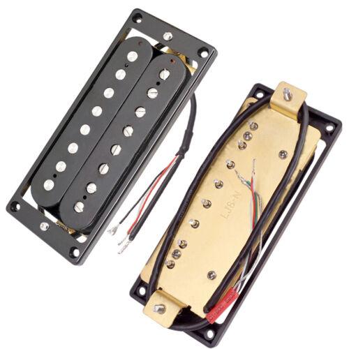 2 Stk 8 String Bridge Gitarre Ersatzteile, Neck Pickup Tonabnehmer für E