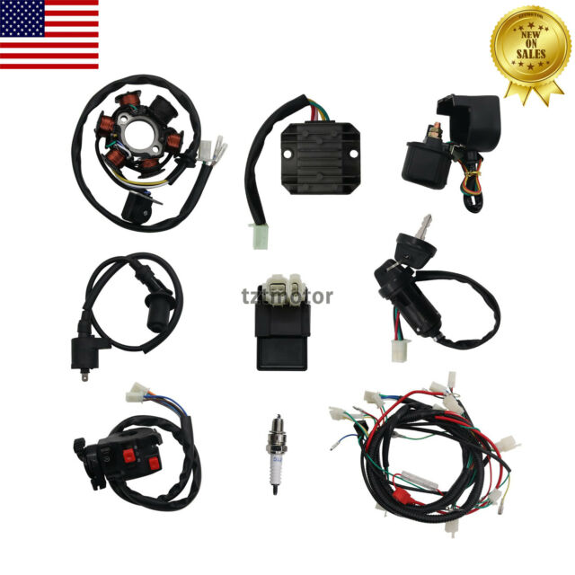 go kart gy6 wiring harness us electrics wire magneto stator wiring harness gy6 125cc 150cc  us electrics wire magneto stator wiring
