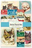 Cavallini Vintage Cats Petite Parcel Set