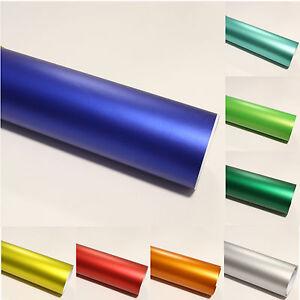 10-53-m-Chrom-Iced-Car-Wrapping-Foil-Autofolie-Matt-Ice-Blasenfrei-Deko-Foil