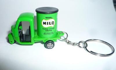 "MILO Malt Novelty KEYCHAIN Malaysia 2018 2/"" Long 1970/'s TRUCK Key Chain Nestle"