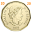 2020-New-Canada-1-One-Dollar-Coin-Common-Loonie-Uncirculated-2020 thumbnail 2