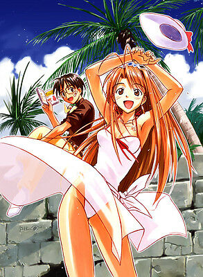 0492 Love Hina  JAPANESE ANIME A3 A4 POSTER ART PRINT