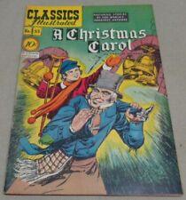 Vintage Nov 1948 A CHRISTMAS CAROL #53 Classics Illustrated Comic Book