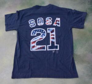 c10932fba Vintage Lee MLB Chicago Cubs Sammy Sosa  21 T-Shirt Size Youth XL ...