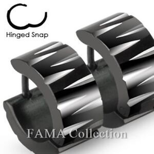 FAMA-Stainless-Steel-Black-Wide-Hoop-Earrings-with-Tribal-Inspired-Faceted-Cuts