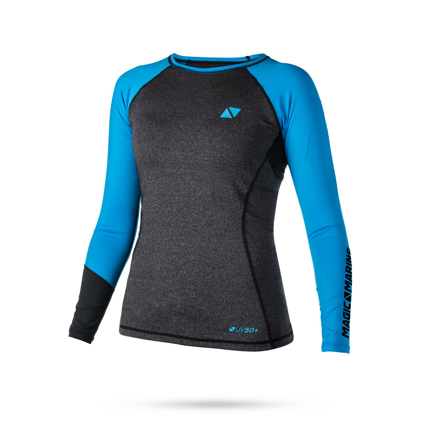 Magic Marine Womens Energy Long Sleeve Rashvest 2019 - blueee
