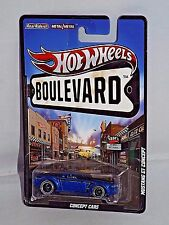 Hot Wheels Boulevard Series Concept Cars Mustang GT Concept Blue w/ Real Riders