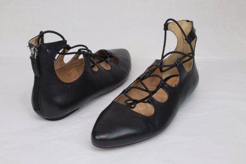 5 Black Us 190108072006 Australia Lace Lorianna Flats Size Leather Ugg 6 E8zFqq