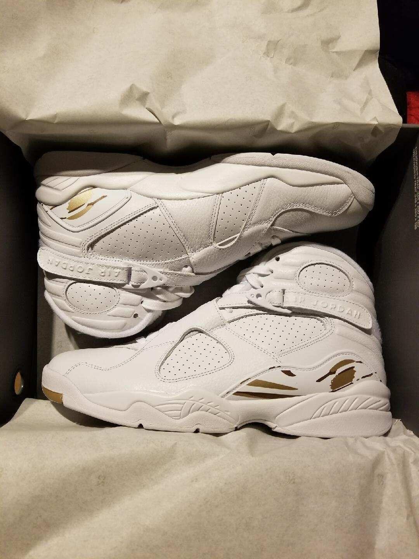 Air Jordan 8 Retro OVO White Size 11 Drake
