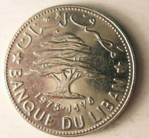 1975-Libanon-50-Piastres-Ausgezeichnete-Muenze-Angebot-Bin-72