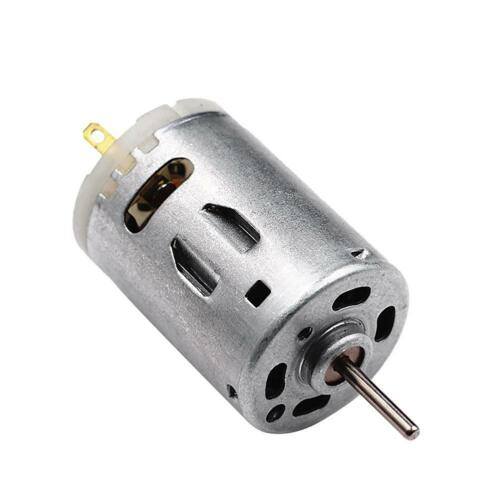 H3E# RS-385 High Speed Micro DC Motor Brushed Metal Stainless Steel Gear Motor