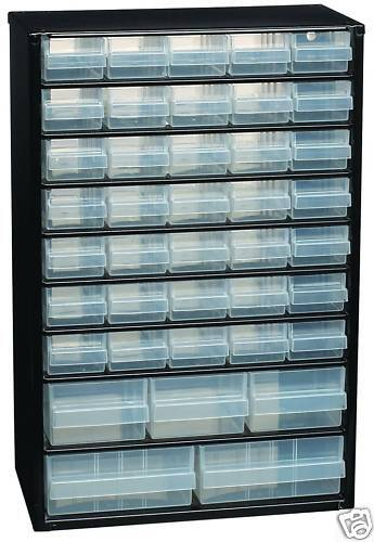 RAACO C10-40 x DRAWER WALL ORGANISER//CABINET 132107 NEW ^