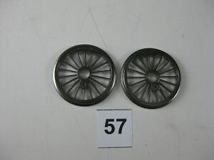 Fleischmann-Da<wbr/>mpflokräder,  Ersatzteile, Spur H0, Ø 20,0 mm, 2Stück (57)