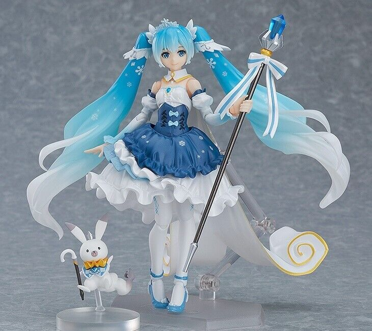 Figma EX-054 Vocaloid SNOW MIKU Snow Princess Ver Figure Good Smile Company NEW