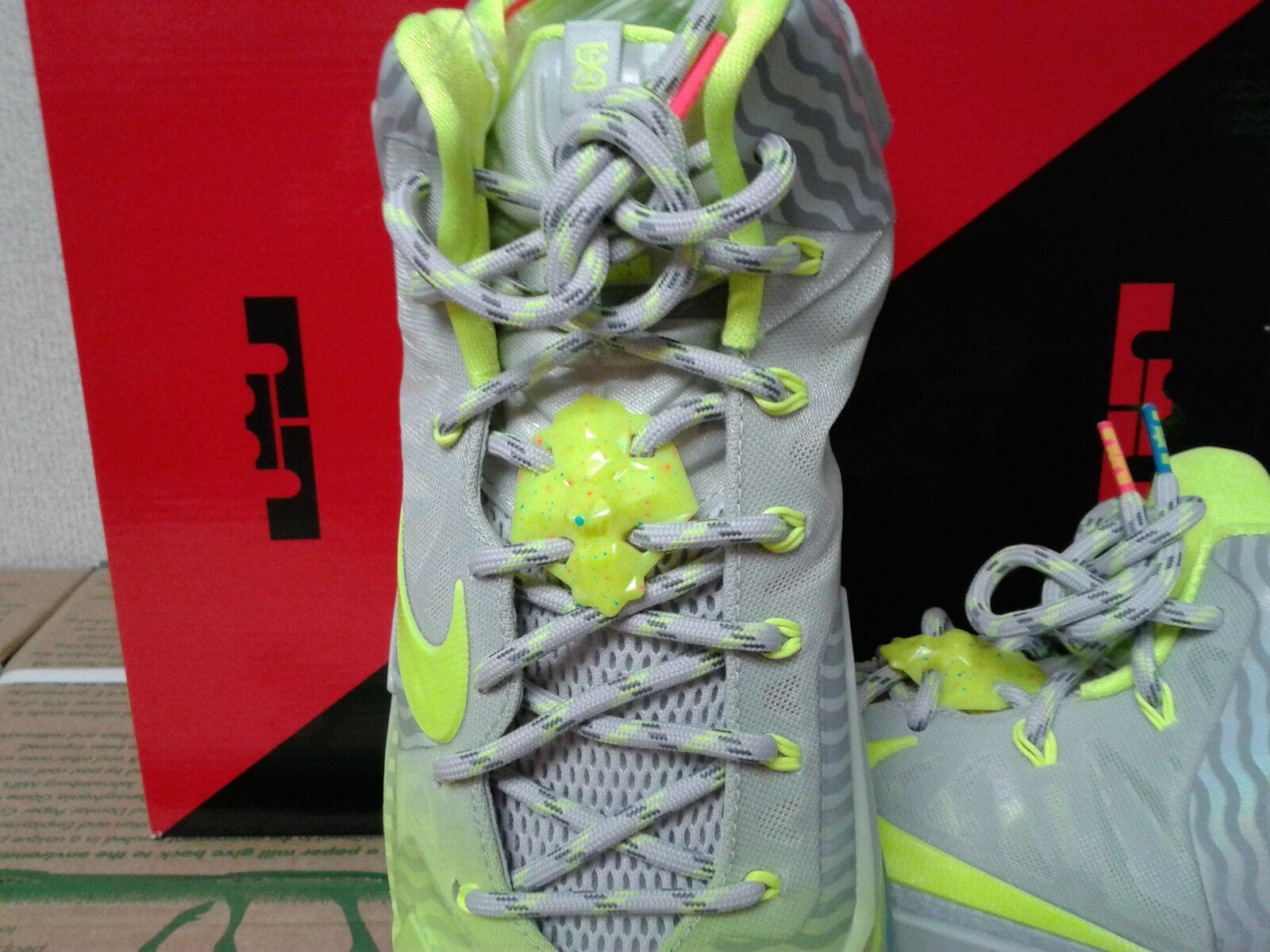Nike lebron james xi maison du sammlung... mtlc lustr / volt volt / / eis...11. 67b022