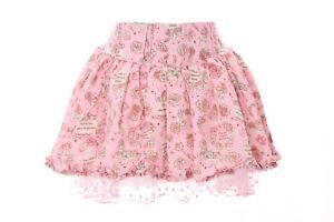 tr-04-2-Rosa-Saten-Tul-FLORECITAS-corto-hoschen-rock-Pantalones-pastel-goth