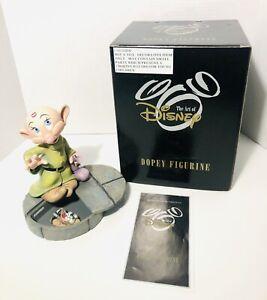 "The Art Of Disney Markrita Dopey 7"" Figurine W/ Hidden Compartment Pin COA Box"