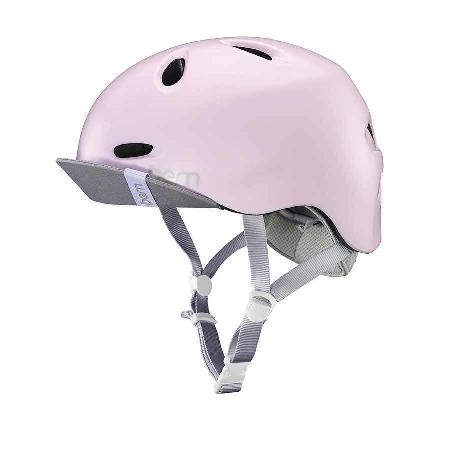 New Bern Berkeley Women Helmet Bicycle Snow Sports Satin Pink M L 55.5-59cm