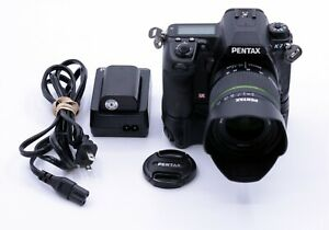 PENTAX-K-7-14-6-MP-DSLR-CAMERA-BODY-WITH-PENTAX-18-55mm-F-3-5-5-6-AL-WR-LENS