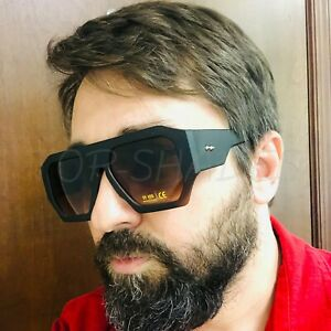 Gafas-de-Sol-lentes-de-Moda-Cuadrado-Estilo-Nuevo-hombres-Mujeres-Big-Lunettes-de-soleil
