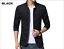 NEW-Men-039-s-Jacket-Slim-Fit-Collar-Cotton-Coat-Fashion-Casual-Outwear-Jacket-Coats thumbnail 6